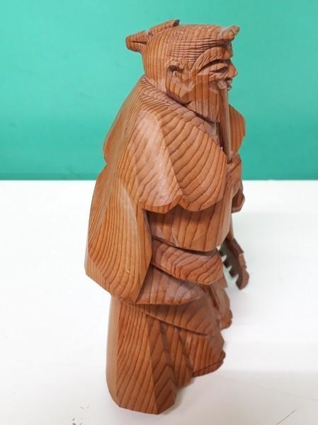 【高砂人形】伝統工芸品指定/一位一刀彫/高砂/和之作/高砂人形/kh0753_画像5