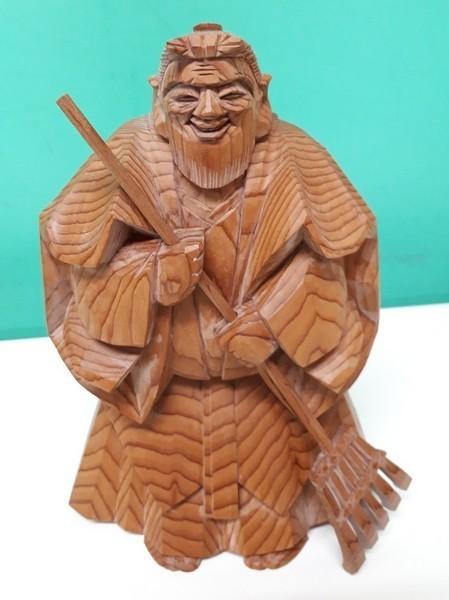 【高砂人形】伝統工芸品指定/一位一刀彫/高砂/和之作/高砂人形/kh0753_画像2