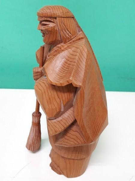 【高砂人形】伝統工芸品指定/一位一刀彫/高砂/和之作/高砂人形/kh0753_画像7
