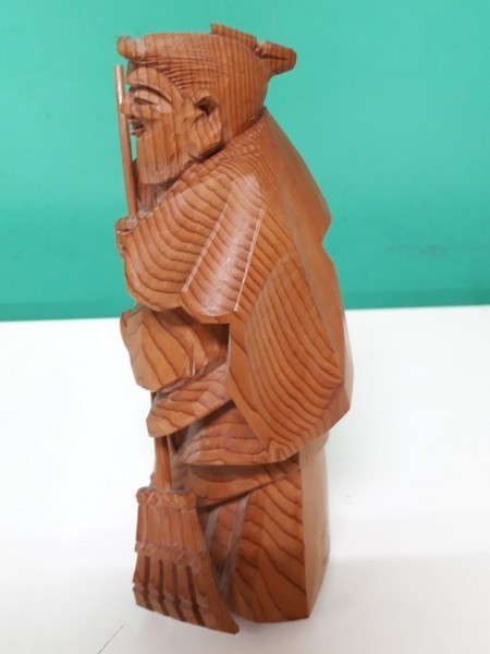 【高砂人形】伝統工芸品指定/一位一刀彫/高砂/和之作/高砂人形/kh0753_画像3