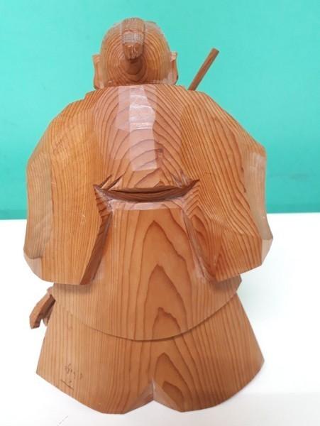 【高砂人形】伝統工芸品指定/一位一刀彫/高砂/和之作/高砂人形/kh0753_画像4