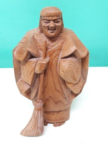 【高砂人形】伝統工芸品指定/一位一刀彫/高砂/和之作/高砂人形/kh0753_画像6
