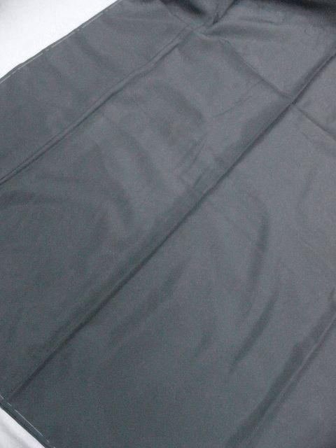 仕立て上り・新品 プレタ・メンズ色無地着物・羽織セット LLサイズ アイビーグレイ・カラー_画像4