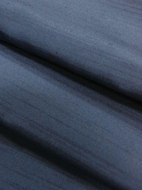 落ち着いた色合い 洗えるポリエステル・紬風のアンサンブル Lサイズ 新品_画像5
