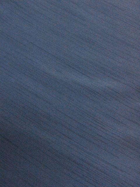 落ち着いた色合い 洗えるポリエステル・紬風のアンサンブル Lサイズ 新品_画像4