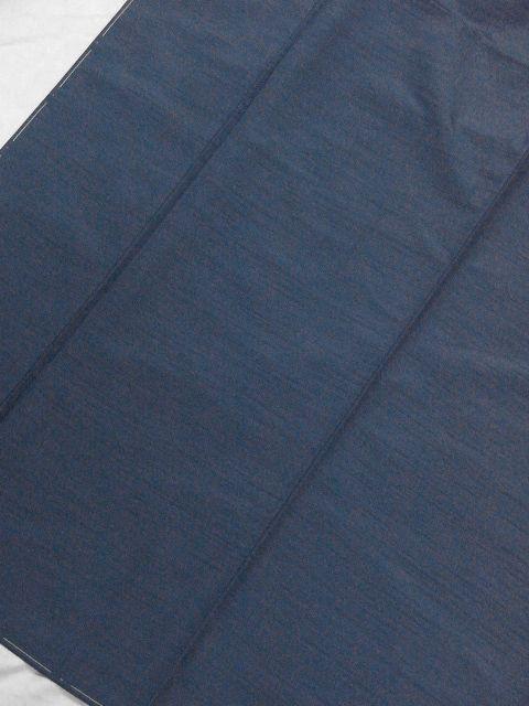 落ち着いた色合い 洗えるポリエステル・紬風のアンサンブル Lサイズ 新品_画像3