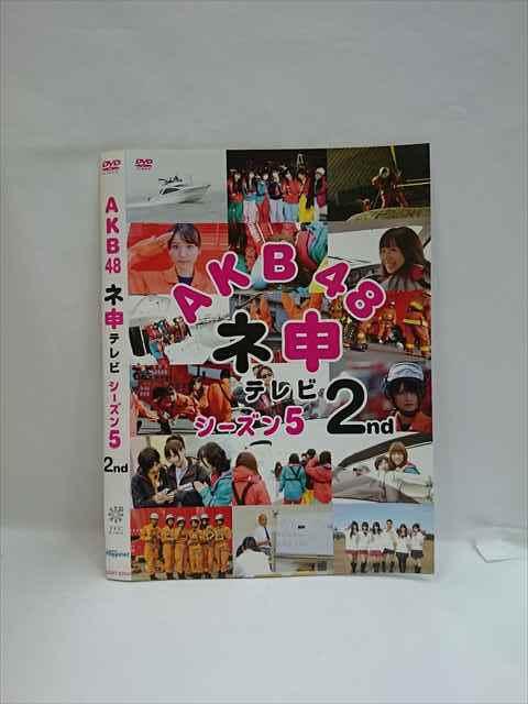 ○004245 レンタル版●DVD AKB48 ネ申テレビ シーズン5 2nd 80148 ※ケース無