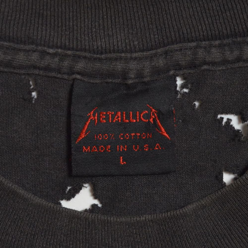 【Vintage T-Shirt / ヴィンテージ Tシャツ】METALLICA Doris / メタリカ《SIZE : L》_画像4
