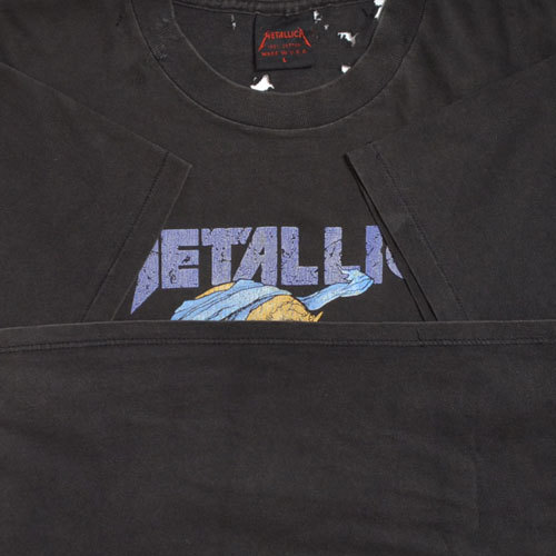 【Vintage T-Shirt / ヴィンテージ Tシャツ】METALLICA Doris / メタリカ《SIZE : L》_画像7