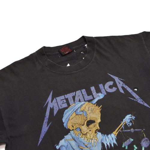 【Vintage T-Shirt / ヴィンテージ Tシャツ】METALLICA Doris / メタリカ《SIZE : L》_画像3