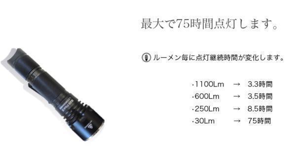送料無料 フラッシュライト B20 高性能防水懐中電灯_画像7