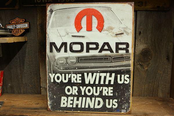 MOPAR オールド加工 看板 ◆ モパー モウパー アメ車 SUDSP1647_画像1