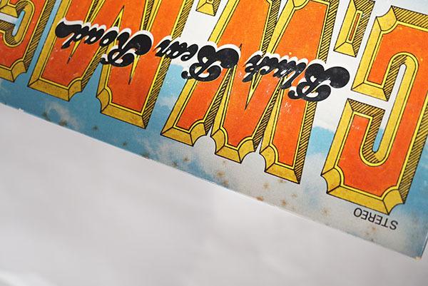 国内プロモ盤LP C.W.McCALL Black Bear Road C.W.マッコール レア品 寄付品_画像6