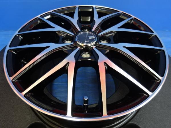 【新品ホイール4本セット♪】VENES FS01 15インチ4.5J+45 4H100 タント N-BOX スペーシア ムーヴ ワゴンR ラパンなど軽自動車に♪_画像4