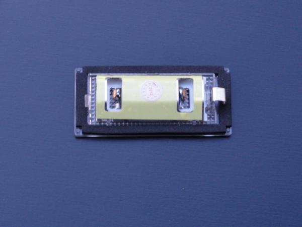 激白光! BMW LED ライセンスランプ  ナンバー灯 E46 318i 320i 325i 後期 2D_画像2