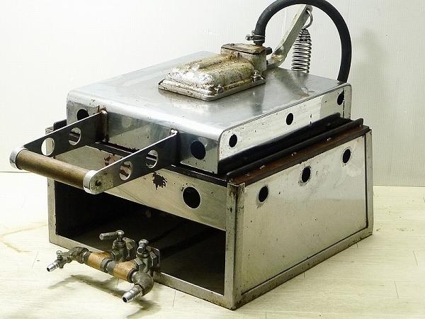 ▲17▲いか焼器 イカ焼き器 都市ガス用 店舗用品 厨房機器_下記の画像・説明も必ずご覧下さい。