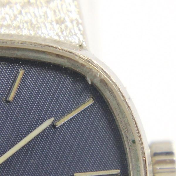 【オメガ】デビル/腕時計/レディース/750WG/K18WG/ブルー文字盤/手巻き/デヴィル/OMEGA/ホワイトゴールド/金無垢_画像6