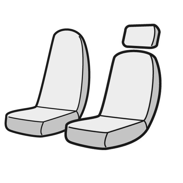 【Azur/アズール】フロントシートカバー ヘッドレスト一体型 運転席単品 UDトラックス クオン(パーフェクトクオン含む) H.23/10~ AZU13R01_画像4