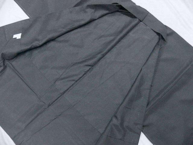 仕立て上り・新品 プレタ・メンズ色無地着物・羽織セット LLサイズ アイビーグレイ・カラー_画像9