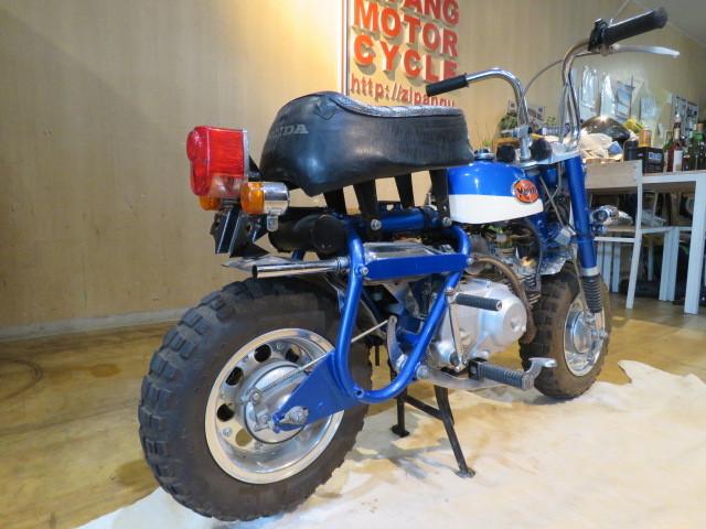 HONDA MONKEY Z50A ホンダ モンキー リジット 50cc 6V 初期型 ブルー 2949km 原付 原チャリ バイク 希少 札幌発_画像6