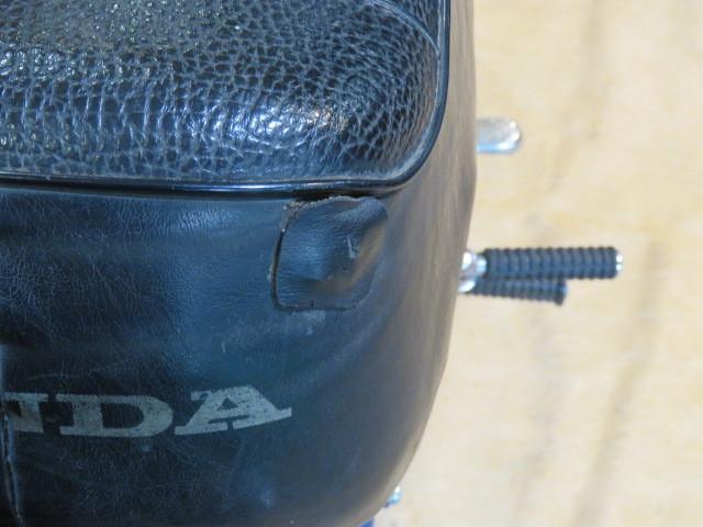 HONDA MONKEY Z50A ホンダ モンキー リジット 50cc 6V 初期型 ブルー 2949km 原付 原チャリ バイク 希少 札幌発_画像10