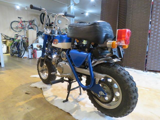 HONDA MONKEY Z50A ホンダ モンキー リジット 50cc 6V 初期型 ブルー 2949km 原付 原チャリ バイク 希少 札幌発_画像5