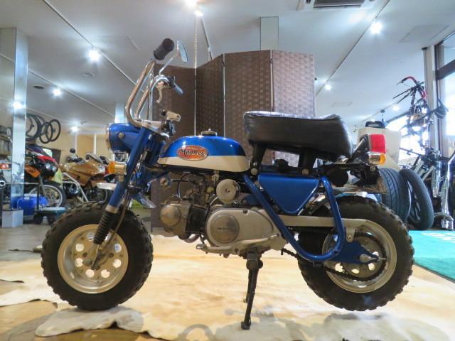 「HONDA MONKEY Z50A ホンダ モンキー リジット 50cc 6V 初期型 ブルー 2949km 原付 原チャリ バイク 希少 札幌発」の画像2