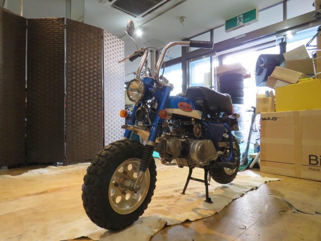 HONDA MONKEY Z50A ホンダ モンキー リジット 50cc 6V 初期型 ブルー 2949km 原付 原チャリ バイク 希少 札幌発_画像4