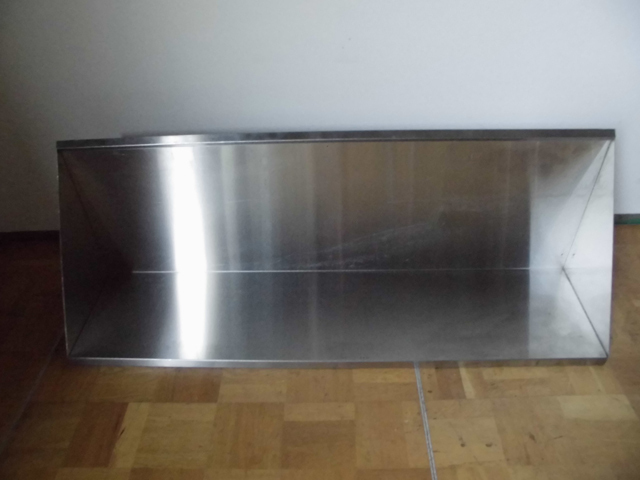 中古厨房 吊り戸棚 吊り棚 収納 W1270×D300×H450mm_画像2