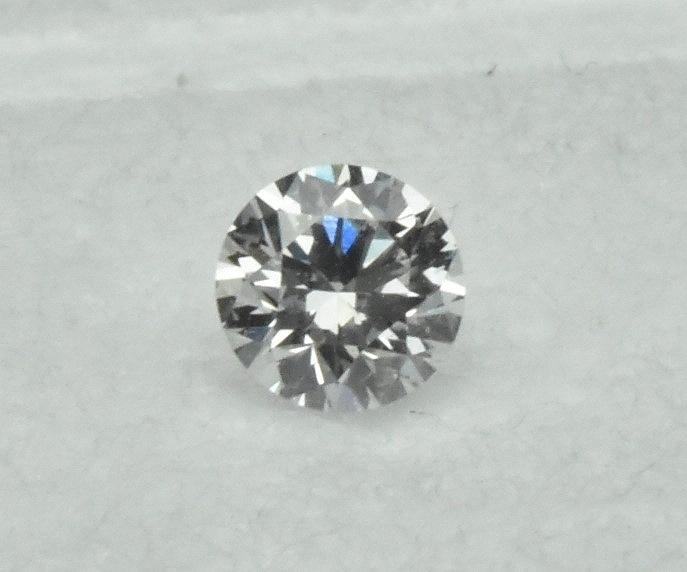 【中央宝石研究所】天然ダイヤモンド 0.213ct G SI-2 EX H&C_画像1