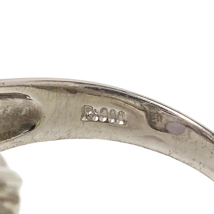 12号 タンザナイト 計1.55ct ダイヤモンド 計0.28ct リング・指輪 Pt900プラチナ_画像5