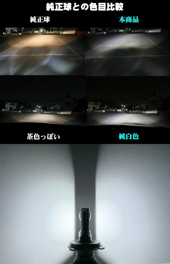 最強発光伝説16000LM LEDフォグランプ セット 爆光【 ライフ JC1.2 H22.11~H26.04 H8/H11/H16 】車種別設定 6500k_画像3