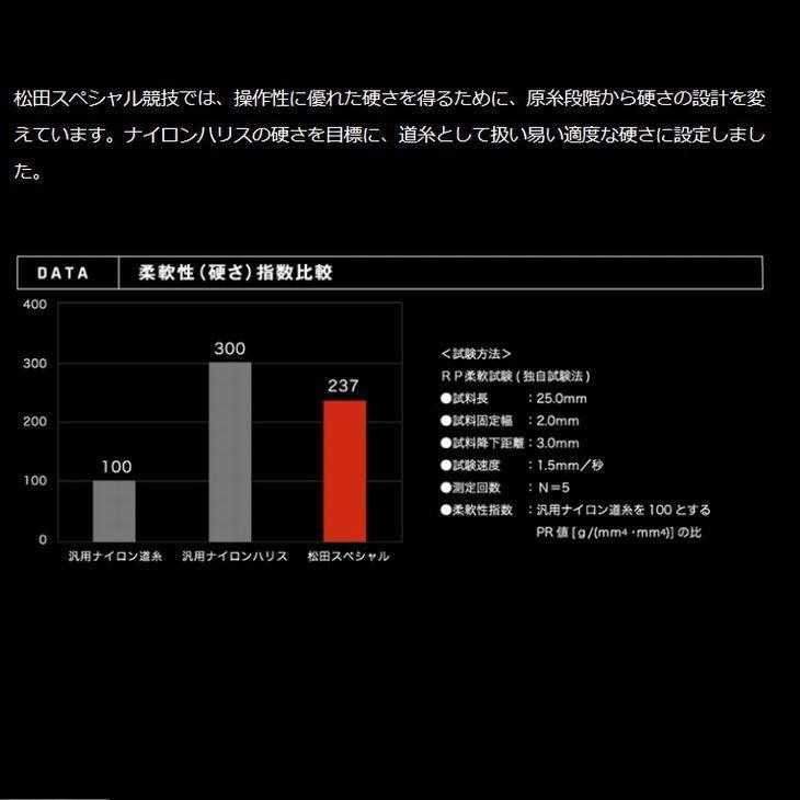 サンライン 松田スペシャル SP 限定品 2.5号 150m 非売品 ステッカー ワッペン付き 国産 日本製ナイロン 道糸 磯用 ライン_画像8