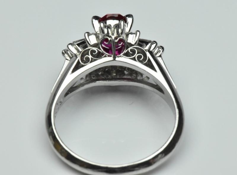 京セラ クレサンベール 綺麗な ルビー リング 10号 指輪_画像5