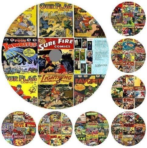 著作権フリー アメコミ5000冊 漫画で最強英語学習 留学 TOEICに/リーディングアメリカンコミックマーベルDCを読む前にビンテージコミック_画像1