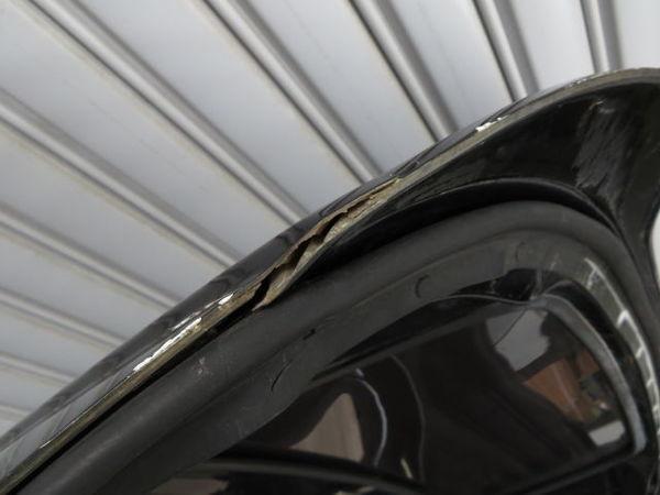 無限 MUGEN ムゲン AP1 AP2 HONDA S2000 ハードトップ FRP ルーフ 屋根 リア窓付 S2K (黒メタに近いガンメタ系) 手渡しも可_左後方割れ