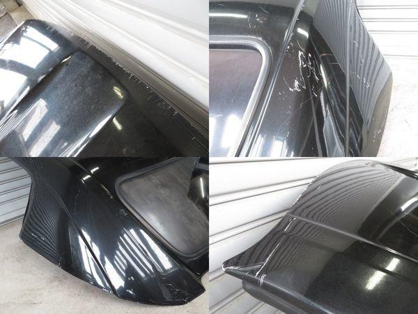無限 MUGEN ムゲン AP1 AP2 HONDA S2000 ハードトップ FRP ルーフ 屋根 リア窓付 S2K (黒メタに近いガンメタ系) 手渡しも可_ガリ傷剥れ