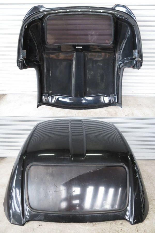 無限 MUGEN ムゲン AP1 AP2 HONDA S2000 ハードトップ FRP ルーフ 屋根 リア窓付 S2K (黒メタに近いガンメタ系) 手渡しも可_画像4
