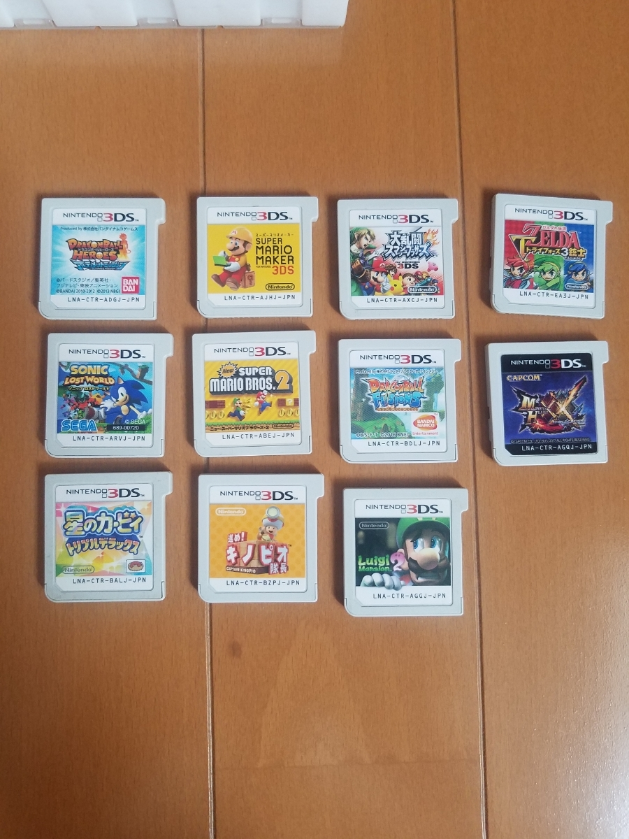 3DSソフト 11個 レターパック送料無料!