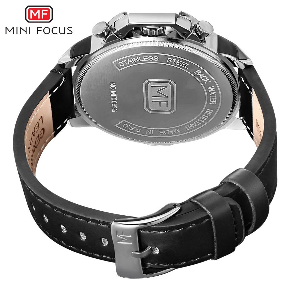 【お買い得◆最低落札価格無し◆新品未使用◆ハイブランド】MINI FOCUS 高級 メンズ クォーツ式 腕時計 防水 クロノグラフ 色選択可◆1042_画像6