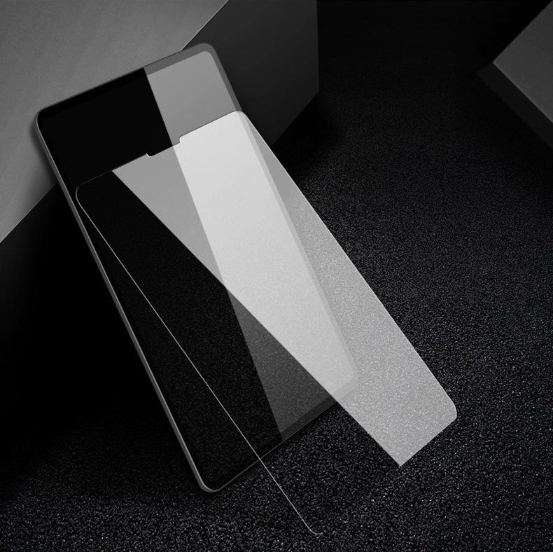 iPad Pro 12.9インチ ガラスフィルム0.33mm 硬度9H Face ID対応強化ガラス液晶保護フィルム 超薄型高感度高透過率指紋気泡防止飛散防止処理_画像2