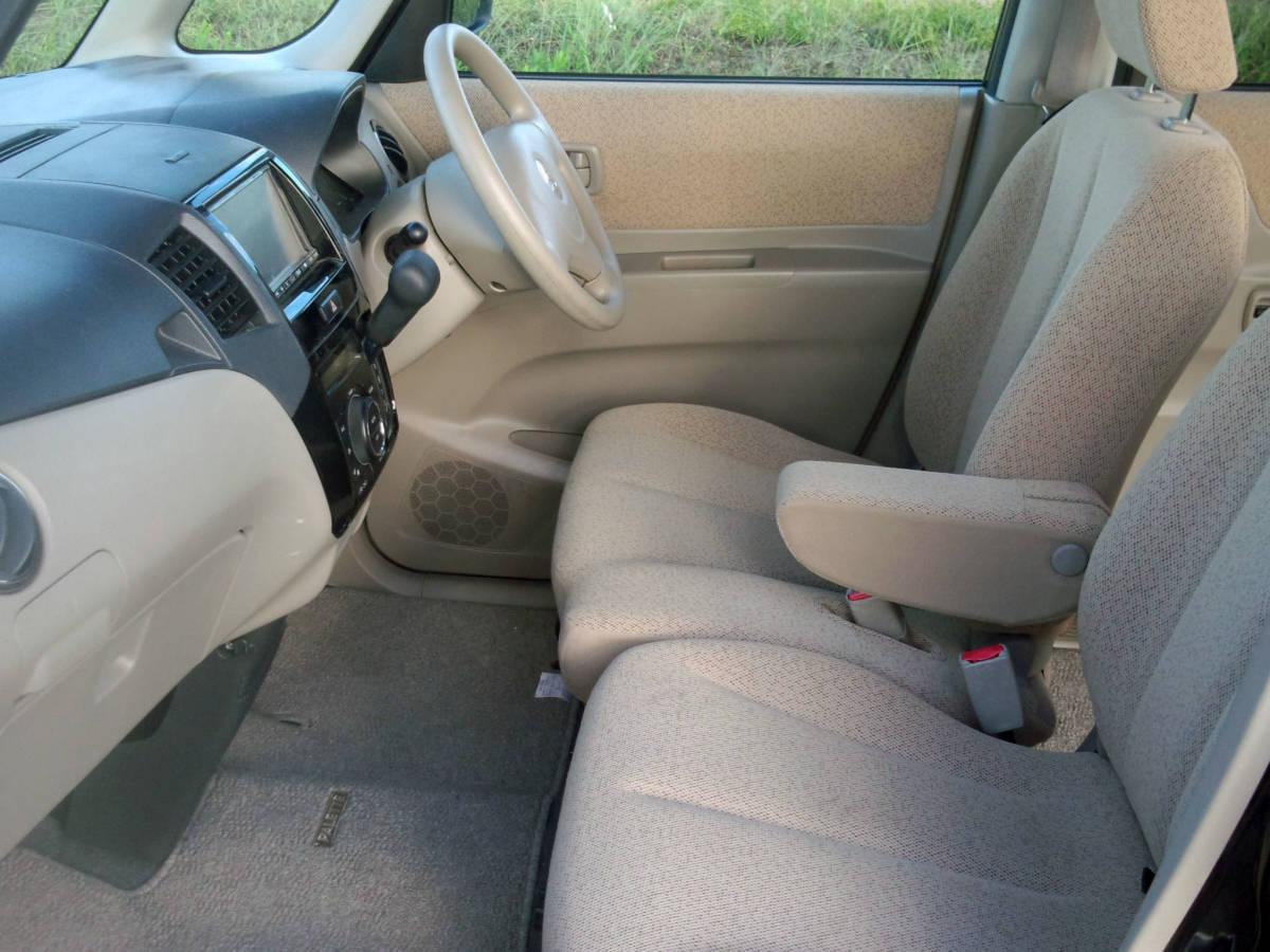 「H20・パレット・4WD・AT・スマートキー・左後ろ電動ドア・両サイドAB・ナビ・TV・CD・電格ミラー・集中ドア・AC・PS・PW・ABS・WAB」の画像3