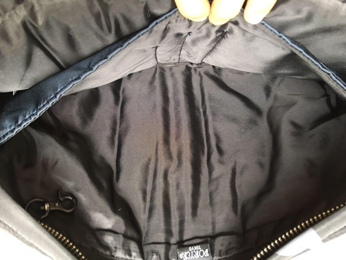鞄 ◆ MARNI × PORTER クラッチバッグ サーフィン 切替 2way マルニ × ポーター サーフコレクション 総柄 グレー レッド 110_画像10
