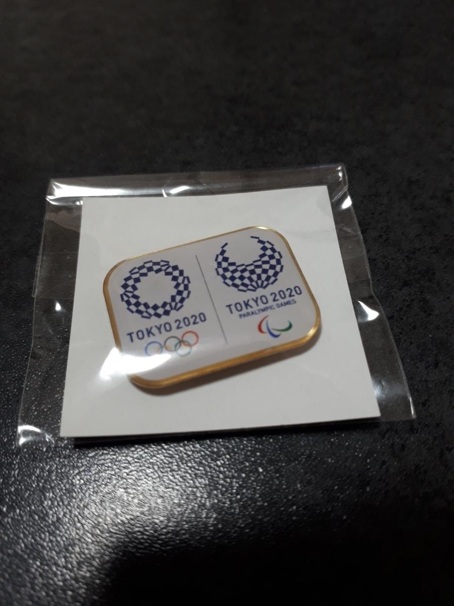 2020 東京オリンピック ピンバッジ マグネットタイプ 未使用 ピンバッチ ピンズ 2020年