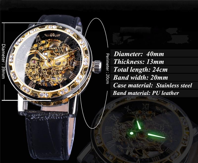 新品 メンズ腕時計 アナログ 防水 ラグジュアリー クォーツ式 海外輸入品 透かし雕り 20代30代40代 ビジネス 賞品_画像2