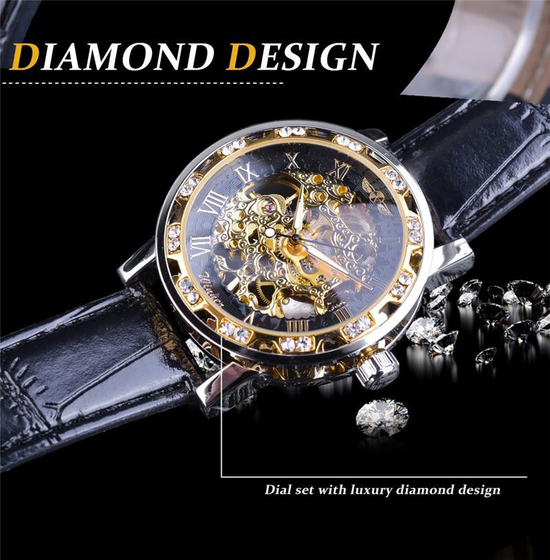 新品 メンズ腕時計 アナログ 防水 ラグジュアリー クォーツ式 海外輸入品 透かし雕り 20代30代40代 ビジネス 賞品_画像4