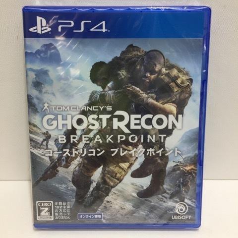 g13710【新品】PS4 ゴーストリコン ブレイクポイント プレイステーション4ソフト_画像1