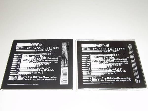 即決★箱付★MINMI★THE LOVE SONG COLLECTION 2006-2007(初回)★4枚まで送料188円★_画像3