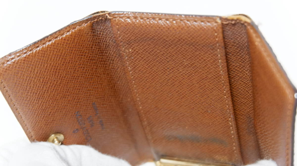 ◎売切り税込◎ルイヴィトンLouisVuitton4連キーケース&3つ折り財布◎★Used_画像3