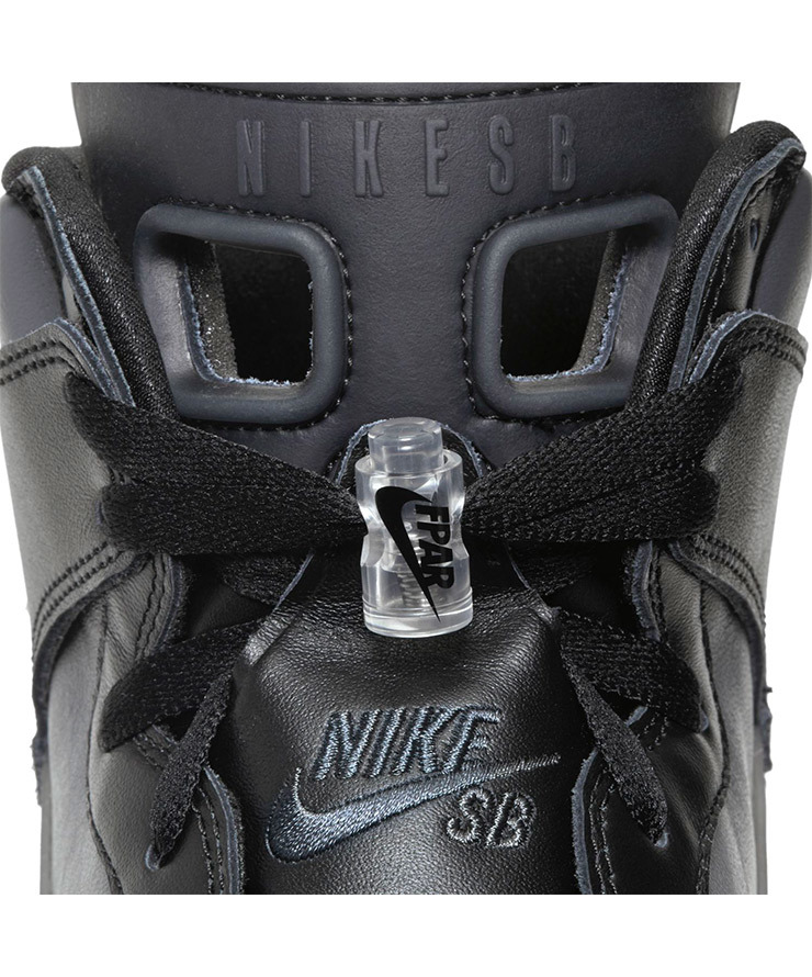 25cm FPAR x Nike SB Dunk High Pro PRM QS Black US7 国内正規品 ナイキ ダンク FORTY PERCENTS AGAINST RIGHTS BV1052-001_画像6